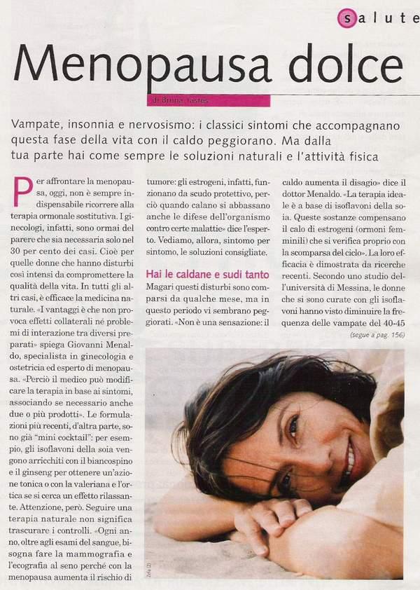 fecondazione Menopausa dolce A