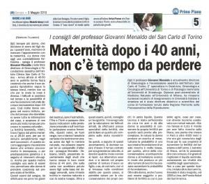 intervista maternità dopo 40 anni -2010_maggio