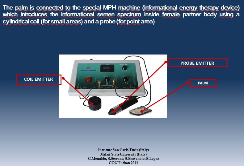 Biophotonic energy – COGI Lisbona 2012- G. Menaldo et al.