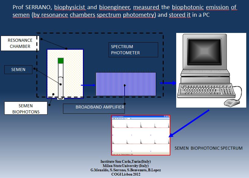 biophotonic energy cogi lisbona 2012 menaldo